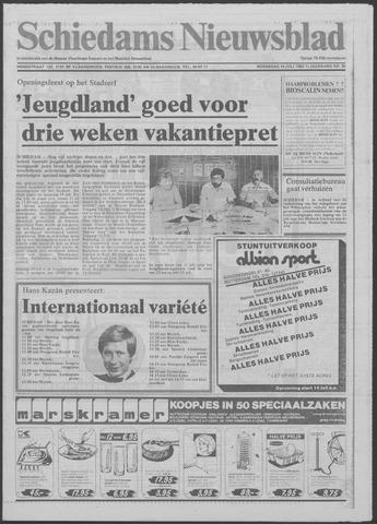 Schiedams Nieuwsblad 1982-07-14
