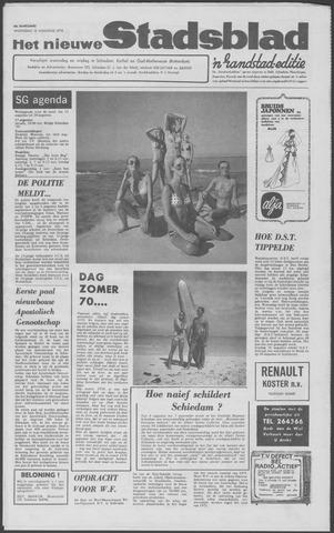 Het Nieuwe Stadsblad 1970-08-12
