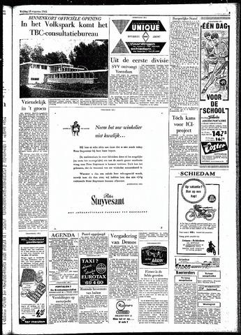 Rotterdamsch Parool / De Schiedammer 1961-08-18