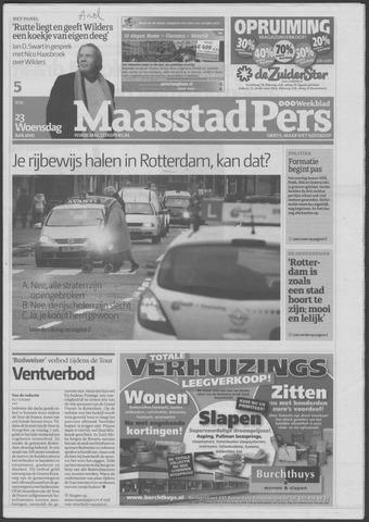 Maaspost / Maasstad / Maasstad Pers 2010-06-23