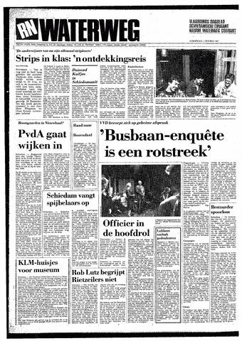 Rotterdamsch Nieuwsblad / Schiedamsche Courant / Rotterdams Dagblad / Waterweg / Algemeen Dagblad 1987-10-01
