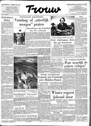 Trouw / De Rotterdammer 1956-02-02