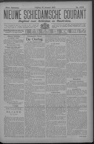 Nieuwe Schiedamsche Courant 1917-01-19
