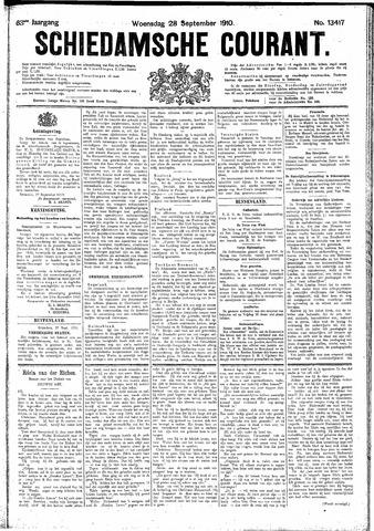 Schiedamsche Courant 1910-09-28