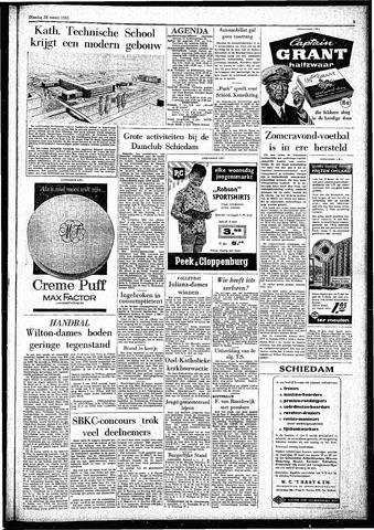 Rotterdamsch Parool / De Schiedammer 1961-03-28