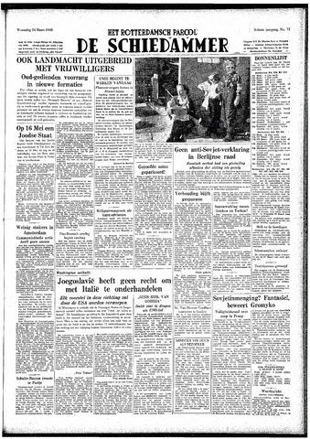 Rotterdamsch Parool / De Schiedammer 1948-03-24