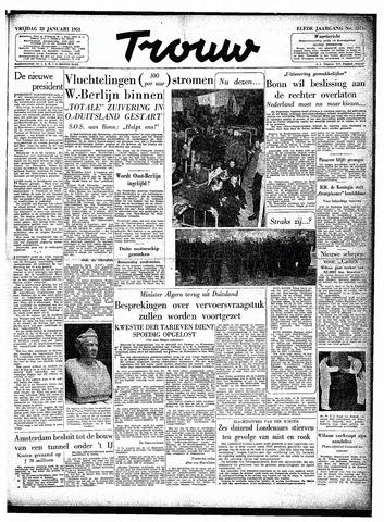 Trouw / De Rotterdammer 1953-01-23