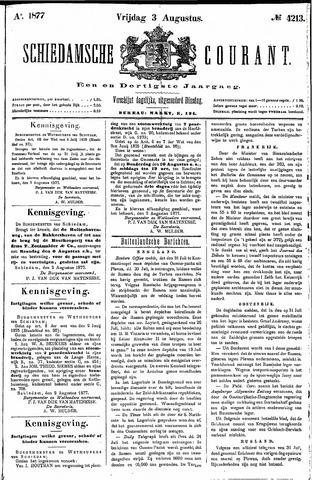Schiedamsche Courant 1877-08-03