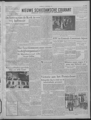 Nieuwe Schiedamsche Courant 1949-09-03