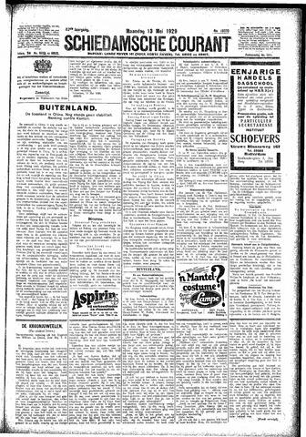 Schiedamsche Courant 1929-05-13