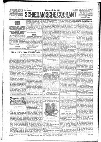 Schiedamsche Courant 1931-05-19
