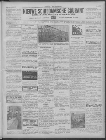 Nieuwe Schiedamsche Courant 1933-11-04