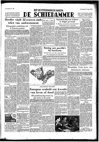 Rotterdamsch Parool / De Schiedammer 1949-08-11