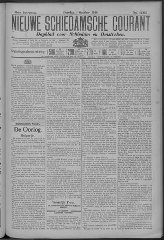 Nieuwe Schiedamsche Courant 1918-10-01
