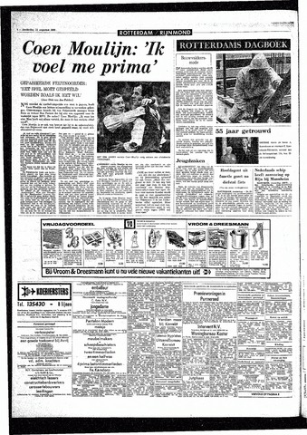 Rotterdamsch Parool / De Schiedammer 1968-08-15