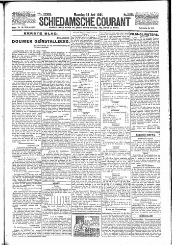 Schiedamsche Courant 1931-06-15