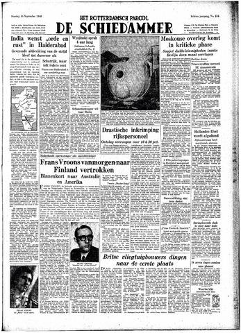 Rotterdamsch Parool / De Schiedammer 1948-09-14