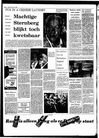 Rotterdamsch Parool / De Schiedammer 1966-08-23
