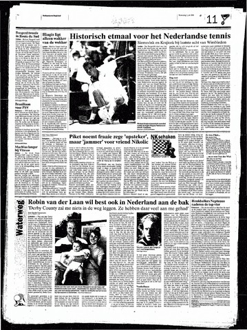 Rotterdamsch Nieuwsblad / Schiedamsche Courant / Rotterdams Dagblad / Waterweg / Algemeen Dagblad 1998-07-01