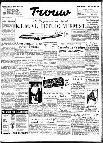Trouw / De Rotterdammer 1958-08-14