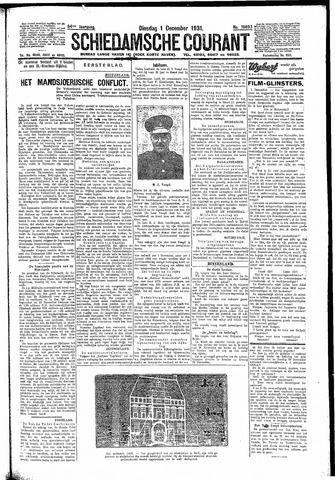 Schiedamsche Courant 1931-12-01