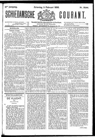 Schiedamsche Courant 1898-02-05