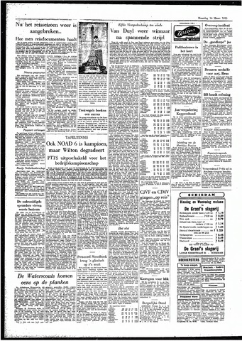 Rotterdamsch Parool / De Schiedammer 1955-03-14
