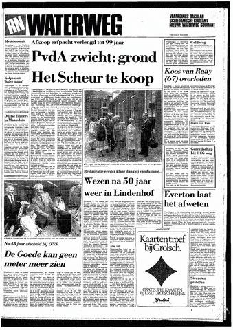 Rotterdamsch Nieuwsblad / Schiedamsche Courant / Rotterdams Dagblad / Waterweg / Algemeen Dagblad 1985-05-17