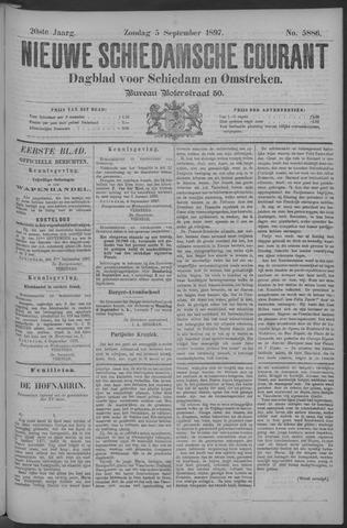Nieuwe Schiedamsche Courant 1897-09-05