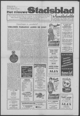 Het Nieuwe Stadsblad 1961-05-19
