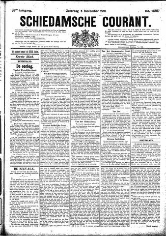 Schiedamsche Courant 1916-11-04