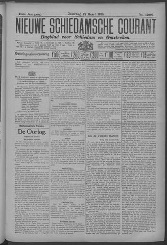 Nieuwe Schiedamsche Courant 1918-03-23