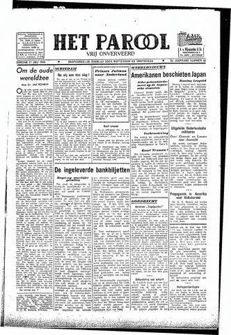 Rotterdamsch Parool / De Schiedammer 1945-07-17