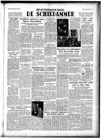 Rotterdamsch Parool / De Schiedammer 1948-01-28