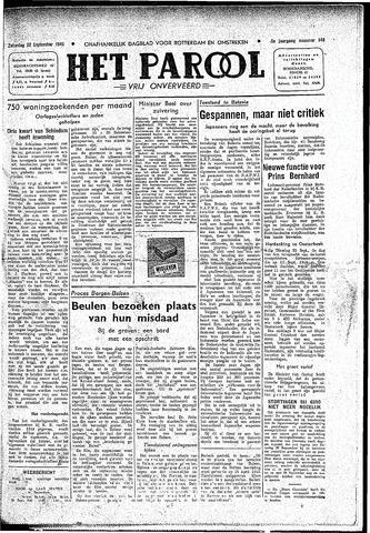 Rotterdamsch Parool / De Schiedammer 1945-09-22