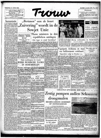 Trouw / De Rotterdammer 1953-07-17