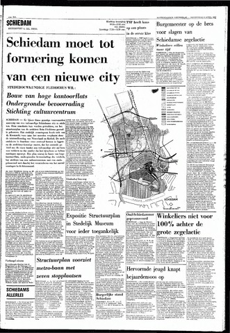 Rotterdamsch Nieuwsblad / Schiedamsche Courant / Rotterdams Dagblad / Waterweg / Algemeen Dagblad 1968-04-04