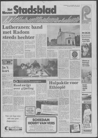 Het Nieuwe Stadsblad 1984-11-21