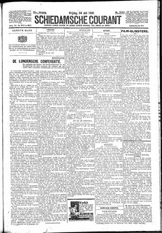 Schiedamsche Courant 1931-07-24