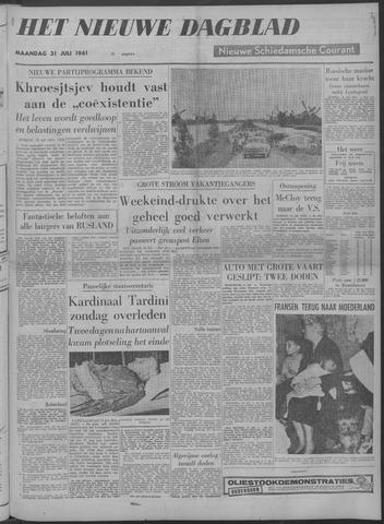 Nieuwe Schiedamsche Courant 1961-07-31