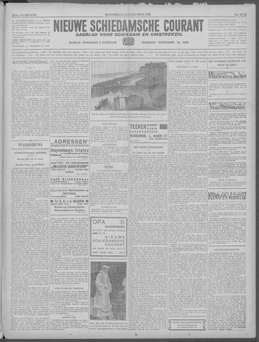 Nieuwe Schiedamsche Courant 1933-08-31