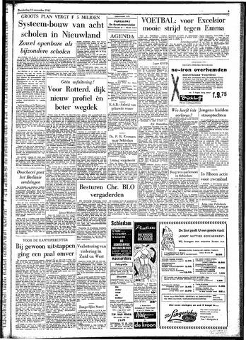 Rotterdamsch Parool / De Schiedammer 1961-11-23
