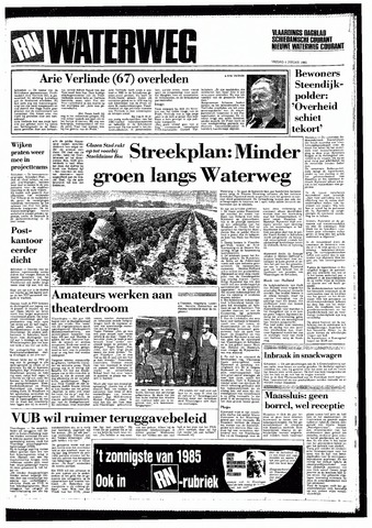 Rotterdamsch Nieuwsblad / Schiedamsche Courant / Rotterdams Dagblad / Waterweg / Algemeen Dagblad 1985-01-04