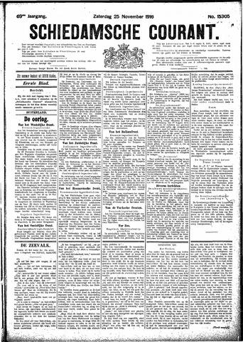 Schiedamsche Courant 1916-11-25