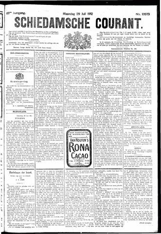 Schiedamsche Courant 1912-07-29