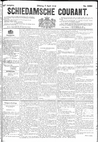 Schiedamsche Courant 1908-04-07