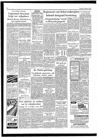 Rotterdamsch Parool / De Schiedammer 1955-01-18