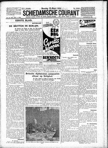 Schiedamsche Courant 1935-03-25