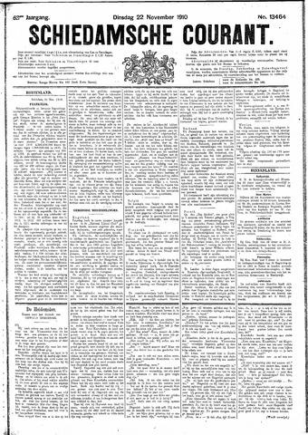 Schiedamsche Courant 1910-11-22