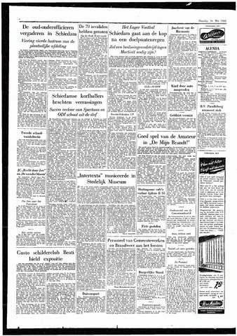 Rotterdamsch Parool / De Schiedammer 1955-05-16